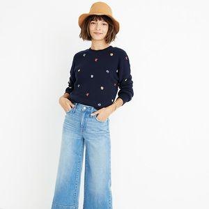Madewell wide-leg crop jeans